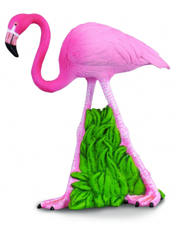 Figurina Flamingo Roz3