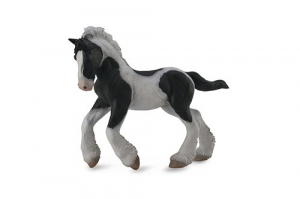Figurina Manz Gypsy alb si negru M Collecta0
