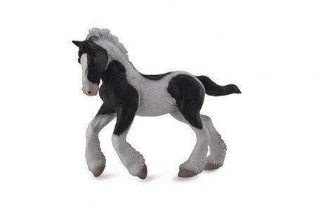 Figurina Manz Gypsy alb si negru M Collecta3