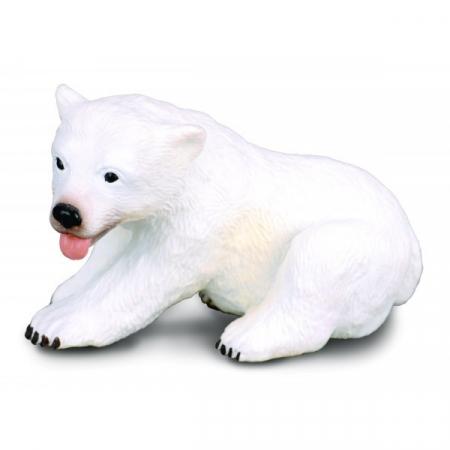 Figurina pui de Urs sezand S Collecta2