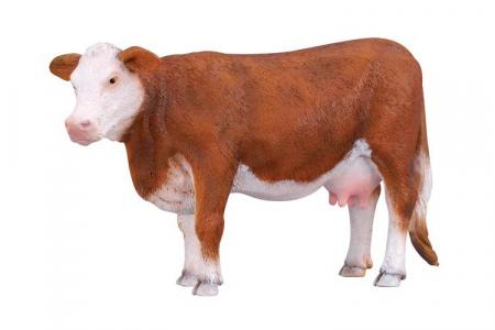 Figurina Vaca Hereford1