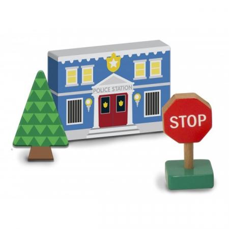 Figurine din lemn Orasul meu - Melissa and Doug2