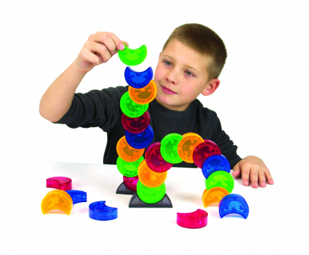 Joc constructie magnetic Arx 2.0 - Fat Brain Toys1