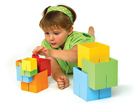 Joc de constructie Cuburi DADO Original - Fat Brain Toys2