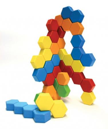 Joc de constructie IQ HexActly - Fat Brain Toys3