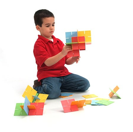 Joc de constructie Patrate DADO Original - Fat Brain Toys4