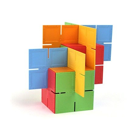 Joc de constructie Patrate DADO Original - Fat Brain Toys0