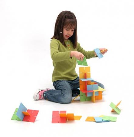 Joc de constructie Patrate DADO Original - Fat Brain Toys5