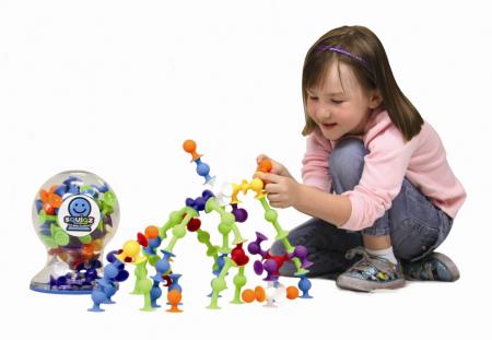 Joc de constructie Squigz Deluxe Set - Fat Brain Toys10