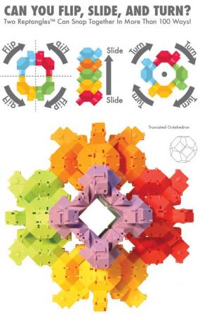 Joc de constructie Testoasele - Fat Brain Toys1