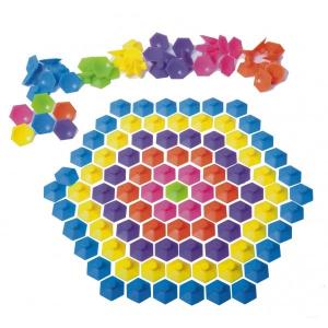Joc de creatie cu ventuze Pop Emz Fat Brain Toys1