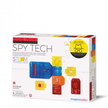 Joc electronic Logiblocs - set Spy Tech [0]