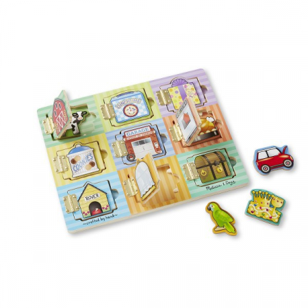 Joc magnetic ascunde si gaseste Melissa and Doug2