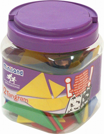 Joc Tangram Miniland 12 seturi [1]