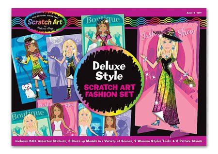Kit desen prin razuire Designer de moda Melissa and Doug6