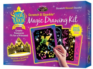 Kit desen prin razuire - Printesa magica0