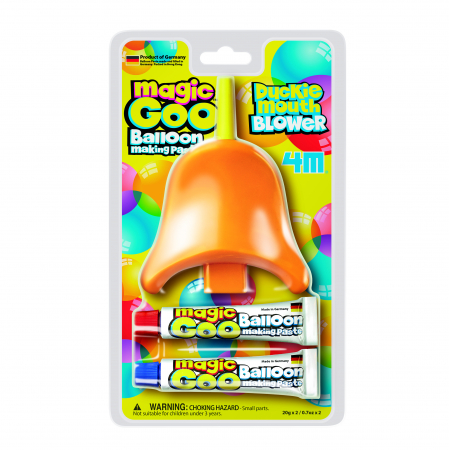 Magic Goo - Pasta de facut baloane cu suflatoare Cioc de Rata0