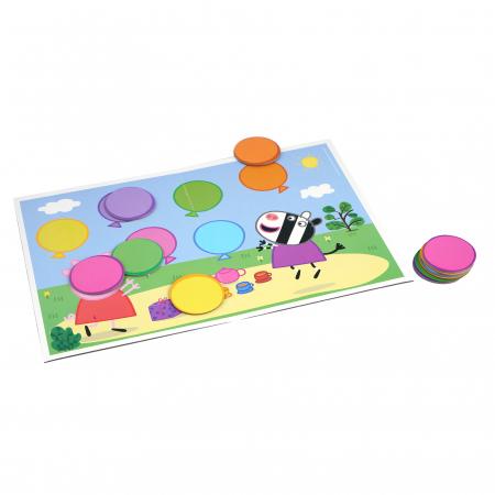 Joc cu baloane Peppa Pig2