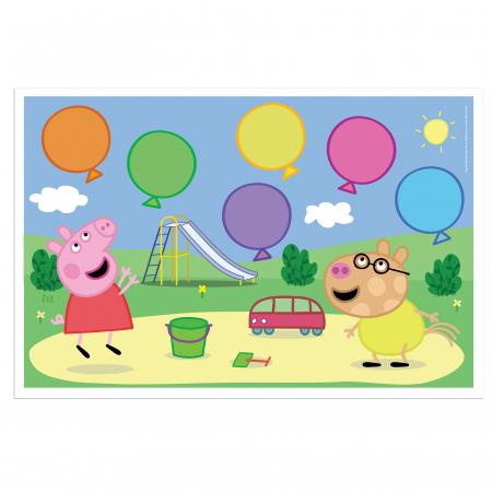 Joc cu baloane Peppa Pig4