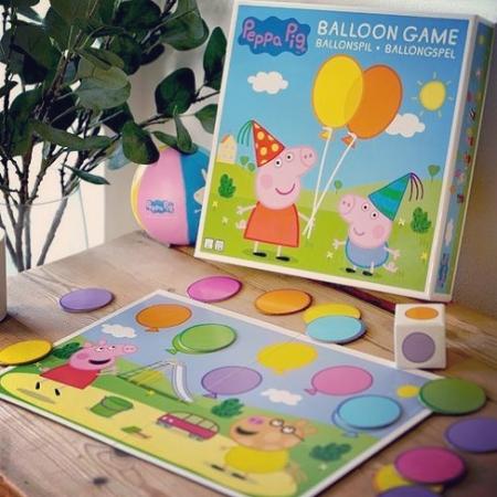 Joc cu baloane Peppa Pig1
