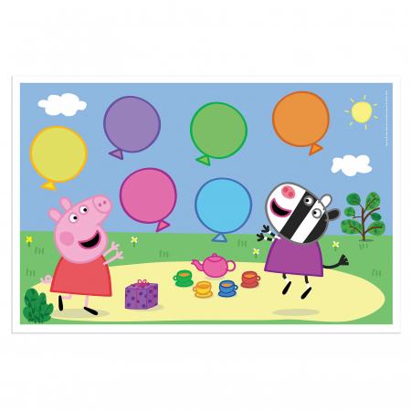Joc cu baloane Peppa Pig3