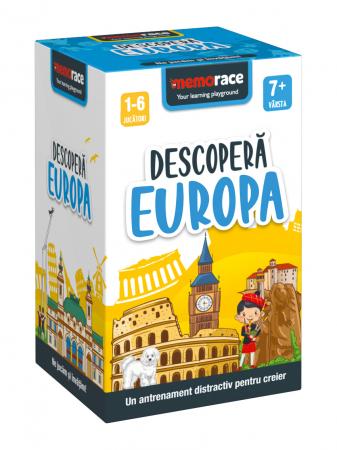 Pachet educativ: BrainBox - Descoperă Romania & MemoRace - Descoperă Europa1