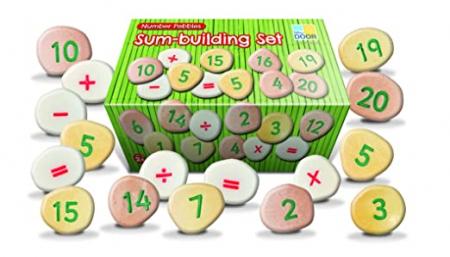Pietricele cu numere - Set Matematica [0]