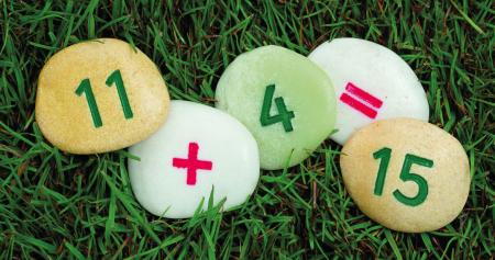 Pietricele cu numere - Set Matematica [2]