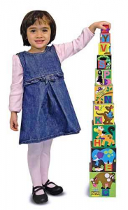 Piramida Alfabet Melissa and Doug0