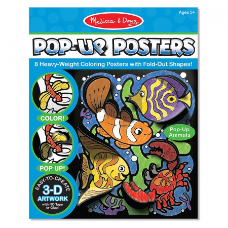Postere 3D Animale Melissa and Doug1