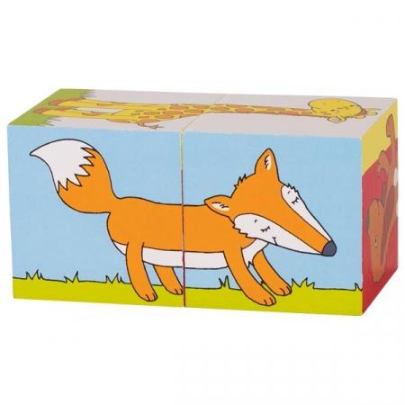 Primele mele cuburi Animale Prietenoase6