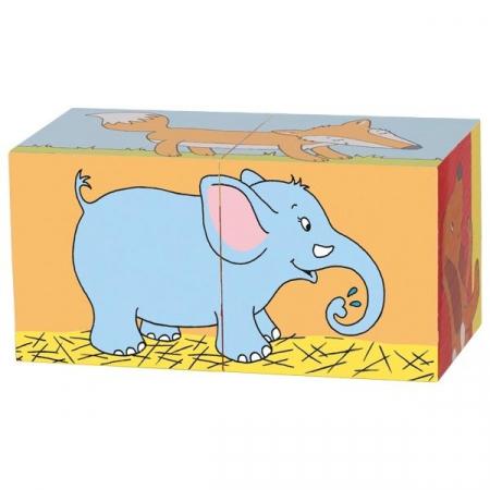 Primele mele cuburi Animale Prietenoase10