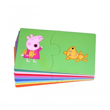Puzzle de noapte buna cu Peppa Pig [2]