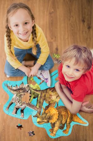 Puzzle Podea Dinozauri [3]