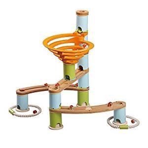Rollercoaster din bambus cu bile16