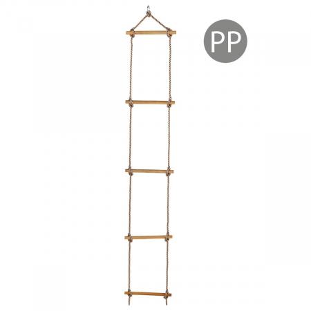 Scara cu trepte de lemn PP 2,5 m (1,80 m) 5 trepte4