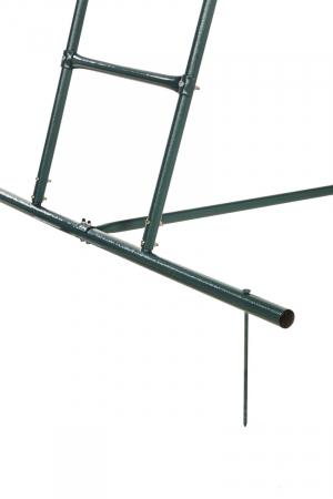 Scara tobogan 1.5 m inaltime verde KBT7