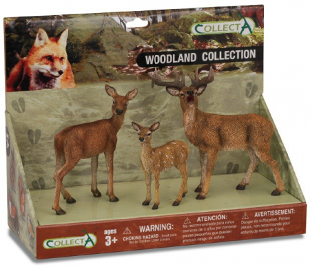Set 3 figurine Animale din padure - Collecta2