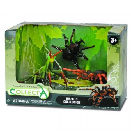 Set 3 figurine insecte Collecta1
