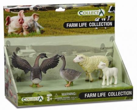 Set 4 figurine Viata la ferma- Collecta1