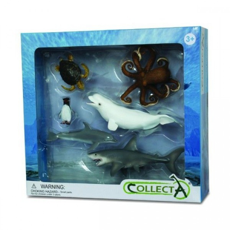 Set 6 figurine viata acvatica Collecta2