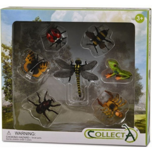 Set 7 figurine insecte Collecta0