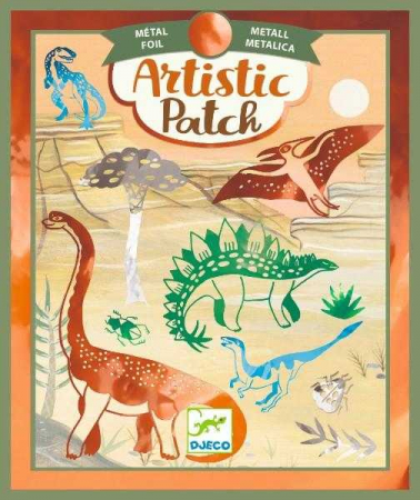 Set creativ transfer Djeco, Dinozauri0
