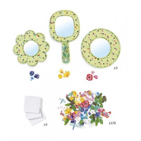 Set DIY Djeco|oglinzi inflorate2