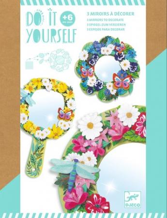 Set DIY Djeco|oglinzi inflorate0