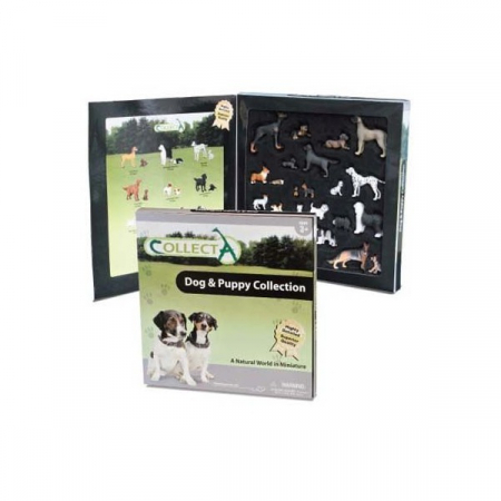Set figurine caini si catelusi Deluxe Collecta1