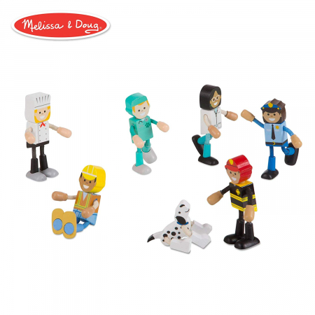 Set figurine flexibile Meserii - Melissa & Doug0