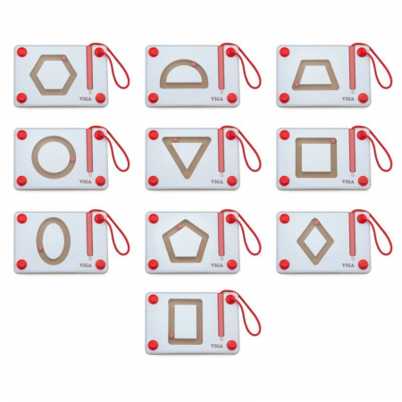 Set magnetic de scriere - Forme geometrice, Viga [1]