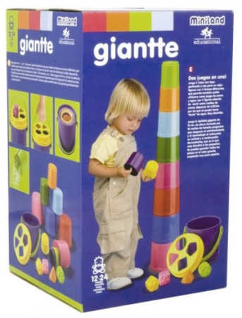 Sortator de forme Giantte Miniland [1]