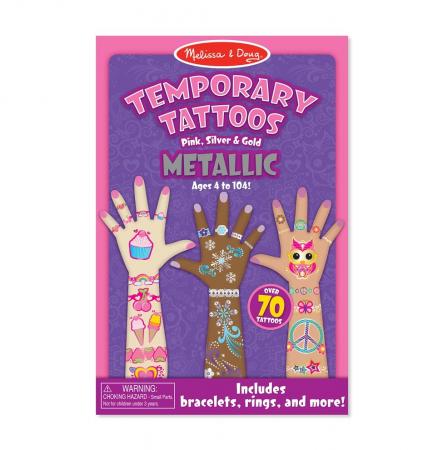 Tatuaje temporare Metallic2